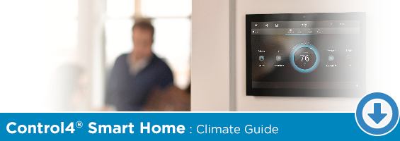 Click to Download Our Control4 Climate Solutions PDF Guide