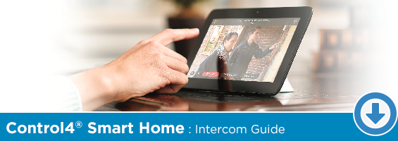 Click to Download Our Control4 Smart Home Intercom PDF Guide