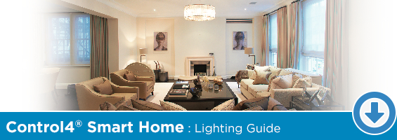 Click to Download Our Control4 Smart Home Lighting PDF Guide