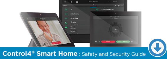 Click to Download Our Control4 Smart Home Safety & Security PDF Guide